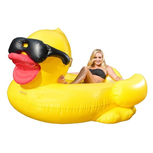 RIDING DERBY DUCK INFLATABLE FLOAT