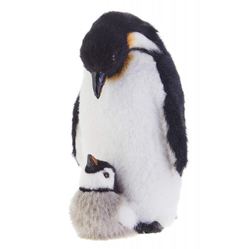 "RAZ Imports 6"" Mom  Baby Penguin Ornament"