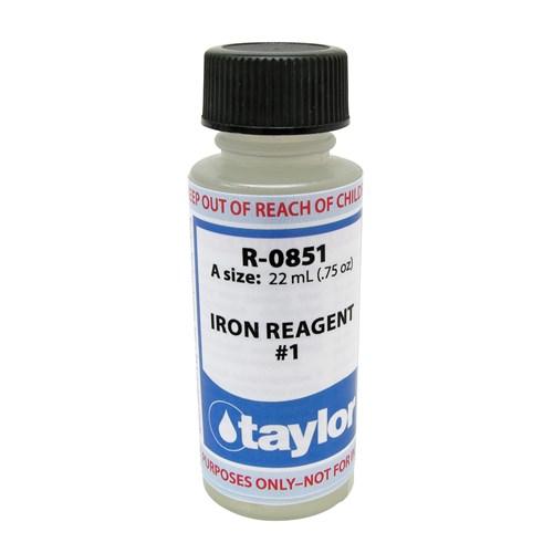 R-0851-A #1 Taylor Iron Reagent #1 .75 oz.