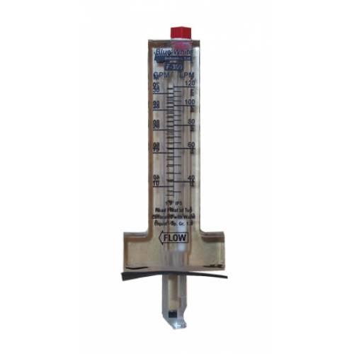 Blue White Industries F 30150pr Horizontal Pipe Flowmeter