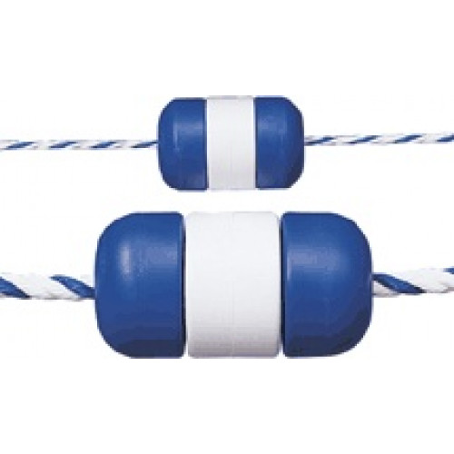 "Rope Float 3"" x 5"" B-W-B Rope Float"